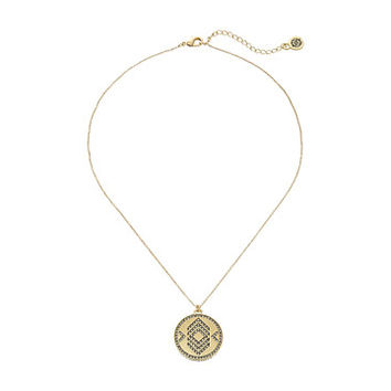 House of Harlow 1960 Andes Reversible Coin Necklace