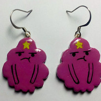 Lumpy Space Princess Earrings by ITSCLAYDAY on Etsy