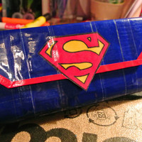 Superman Woman's Clutch Duct Tape Wallet