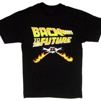 American Classics Men's Back To The Future Flaming Deloreon T-Shirt