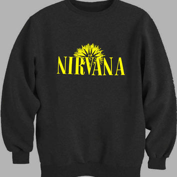 Nirvana Design Sweater for Mens Sweater and Womens Sweater *