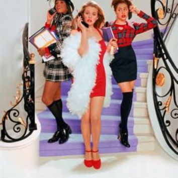 Clueless Movie Poster Textless Stairs 24inx36in