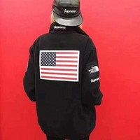 DCCKBA7 Supreme 17ss The North Face Jacket Coat