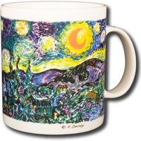 Vincent Van Gogh - The Starry Night - 14oz Coffee Mug