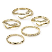 Kendra Scott Warner Rings, Set of 5 | Bloomingdales's