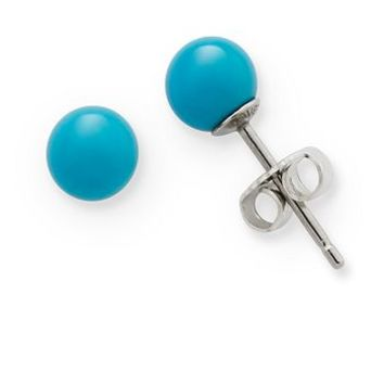 Turquoise Ear Posts | James Avery