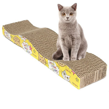 Kitten Corrugated Scratch Board  Bed
