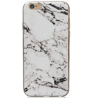Natural Marble Grain iPhone 7 5s 6 6s Plus Case Gift-129