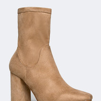 STRETCHY ANKLE BOOT