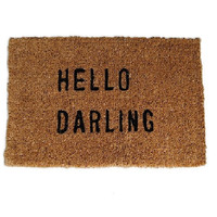 Hello Darling Doormat