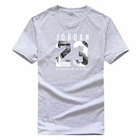 2017 Michael Jordan 23 jumpmarke T-shirt mens cotton t-shirt summer menswear Slim t-shirt