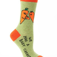We Had A Baby Carrot Women's Socks