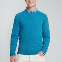 The Amalfi - Crew Neck - Teal