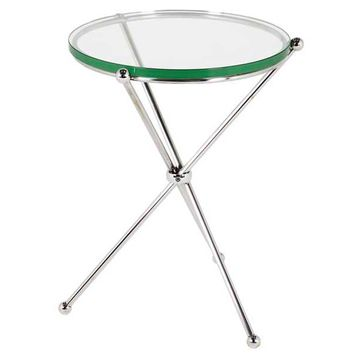Round Glass Side Table | Eichholtz Donna
