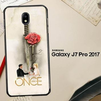 Once Upon A Time Rose X3423 Samsung Galaxy J7 Pro SM J730 Case