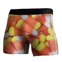 Candy Corn Boxer Brief Dual Sided All Over Print by TooLoud