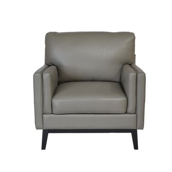 Osman Mid-Century Chair Dark Grey