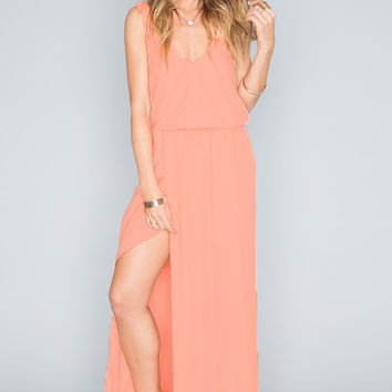 Show Me Your mumu Kendall Maxi Dress ~ Soft Peach