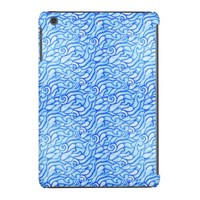 Watercolor Abstract Ocean Waves iPad Mini Retina Cover