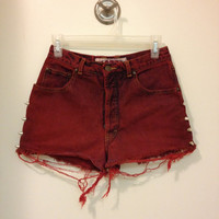 Born To Be Wild High Waisted Shorts