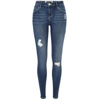 Dark wash Amelie reform superskinny jeans