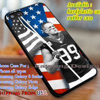 Jj Watt Houston Texans iPhone 6s 6 6s+ 6plus Cases Samsung Galaxy s5 s6 Edge+ NOTE 5 4 3 #sport dl3