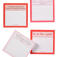 400-Page Gift Set/ 4 Sticky Note, What She Wants