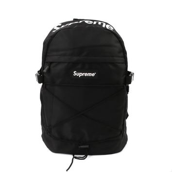 SUPREME backpack school bag fashion outdoor duffle bags 15SS 38TH children backpacks travel bags in stock best size