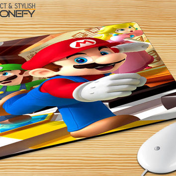Super Mario Old Game Mousepad Mouse Pad|iPhonefy