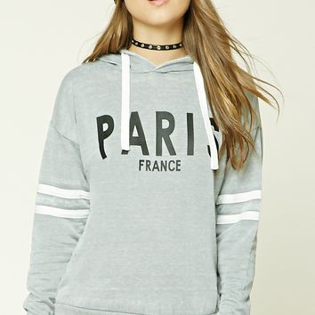 Paris France Graphic Hoodie