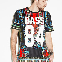 Bass Tribal Print Tee