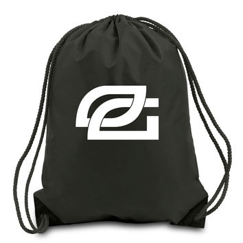 OpTic Cinch Bag - Wht on Black