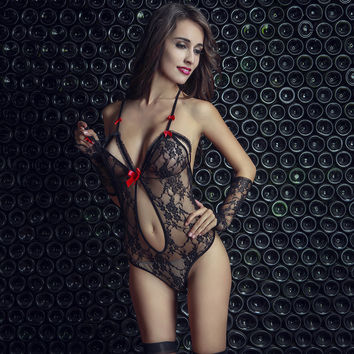 On Sale Cute Hot Deal Sexy Hollow Out Transparent Club Socks Lace Exotic Lingerie [6596215491]