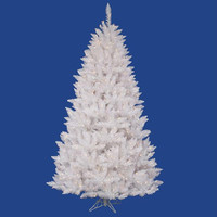 Artificial Christmas Tree - 5.5 Ft. - 601 White And Iridescent Tips