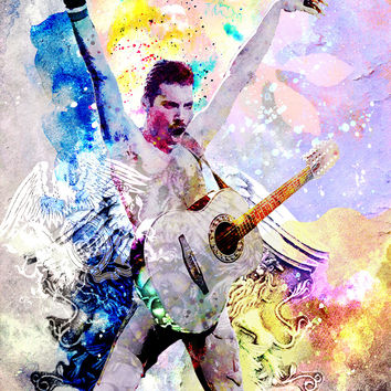 Freddie Mercury Art - Queen