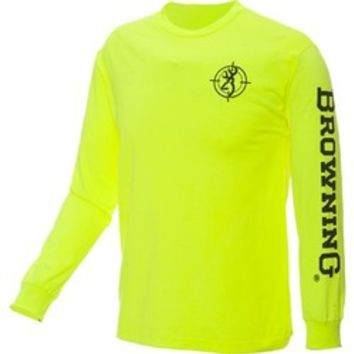 Academy - Browning Men's Crosshair Heather Long Sleeve T-shirt