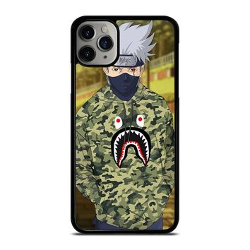 KAKASHI NARUTO BAPE SHARK iPhone Case Cover