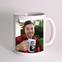 Jimmy Fallon & Justin Timberlake Coffee Mug for Mug Design