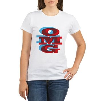 OMG - red and blue T-Shirt