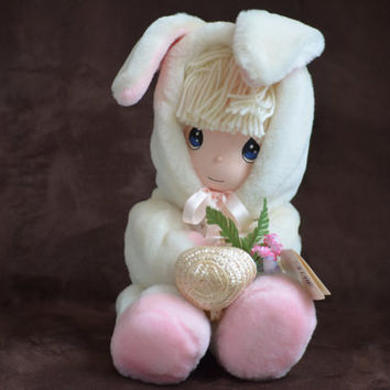 Vintage Doll Precious Moments Easter Doll Tiffany Made by Applause 1994