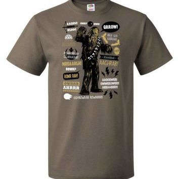 Wookie Famous Quotes Unisex T-Shirt