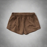 Faux Suede Lounge Shorts