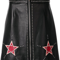Miu Miu Embellished Star Mini Skirt - Farfetch