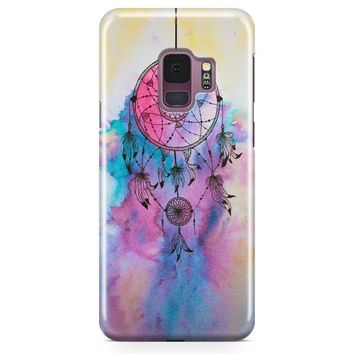 Hipster Dreamcatcher Watercolor Painting Samsung Galaxy S9 Plus Case | Casefantasy