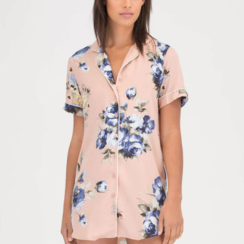 Garden Path Floral Shirtdress GoJane.com