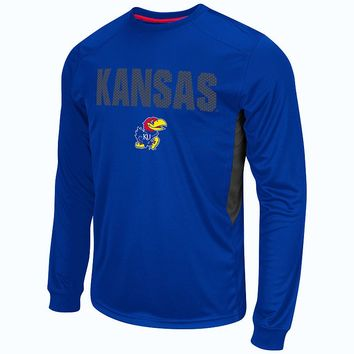 Colosseum Kansas Jayhawks Trainer Tee