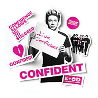 One Direction Limited Edition 1D OD Together Locker Decals Niall Confident Purple by Office Depot