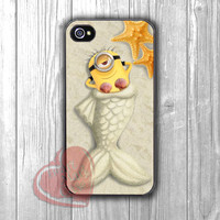 Minion Mermaid - dizi for iPhone 4/4S/5/5S/5C/6/ 6+,samsung S3/S4/S5,samsung note 3/4