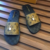 Louis Vuitton Fashion Casual Slipper Shoes-58