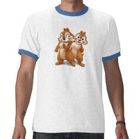 Chip and Dale Disney Shirt from Zazzle.com